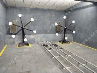 地面有轨自行式自动报靶系统