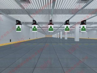 军用实弹射击智能电子自动报靶系统多少钱