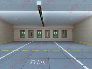 室内靶场实弹射击方舱3D模拟对抗训练系统