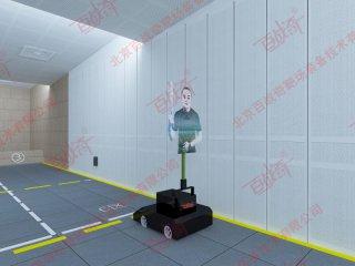 公安特警反恐射击训练冲撞靶机