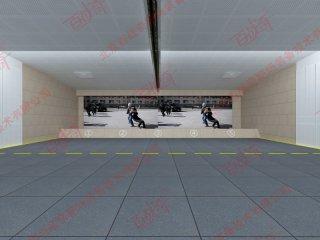 公安特警射击训练激光模拟影视靶机