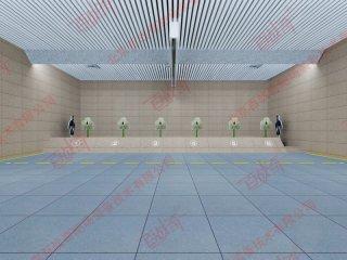 部队军用射击训练纵向运动训练靶机
