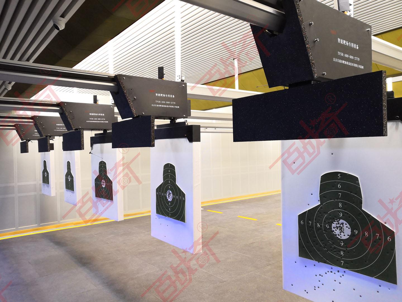 铁路公安局人民警察训练支队室内靶场建设完成竣工交付