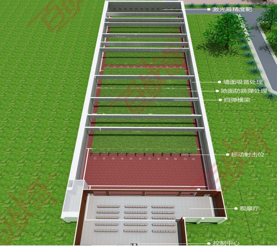 室外靶场建设标准是什么?室外靶场建设方案