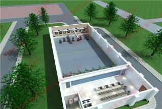 靶场建设设计方案 靶场建设设计效果图